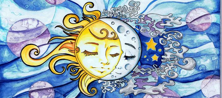 Пътуване от луната към слънцето